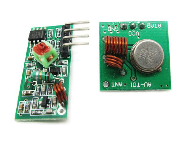 RF Transceiver Module 433MHz - arduitronicscom