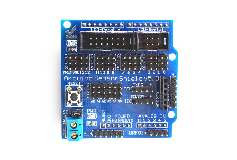 Arduino Motor Shield :: Solarbotics
